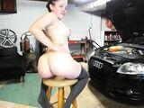 Car mechanic fucks in the butt his hot woman